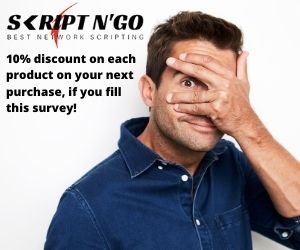 In reward of all your efforts in completing the survey below we provide a 10% discount coupon for all our products of your next purchase.